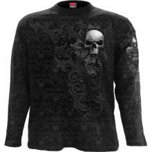 T-shirt manches longues SKULL SCROLL