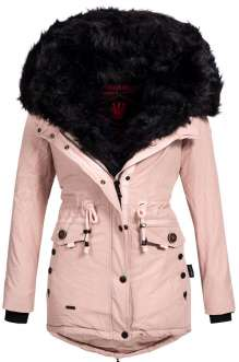 Parka femme d'hiver Navahoo SWEETY - Rose