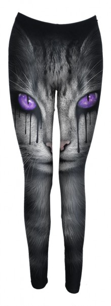 Legging CAT'S TEARS - Allover Comfy Fit Leggings