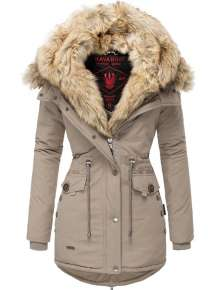 Parka femme d'hiver Navahoo SWEETY - Taupe
