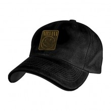 Nirvana - Metal Badge Flex Cap