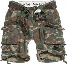 Shorts militaires Division