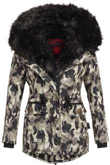 Parka femme d'hiver Navahoo SWEETY - Urban camouflage