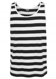 T-shirt sans manches Stripe Big