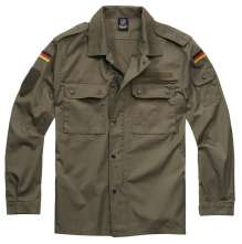 Chemise militaire US Manches Longues BW Feldbluse